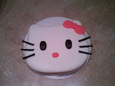 Hello Kitty Baby Shower. Hello Kitty Cake (January 2011