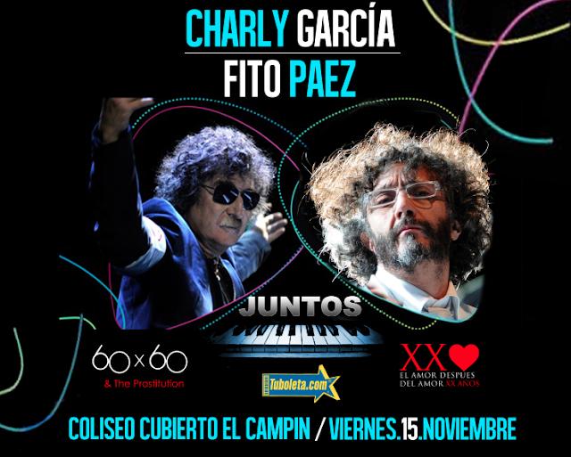 Charly Garcia y Fito-Paez en Bogotá