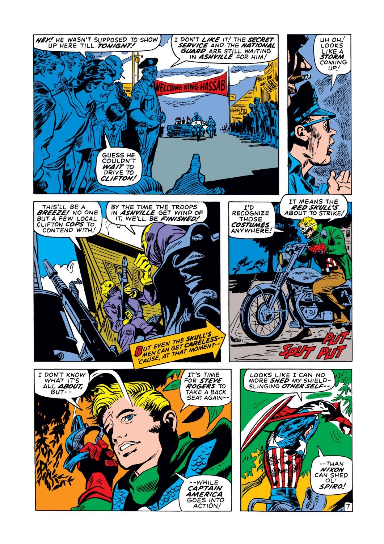 Captain America (1968) Issue #129 #43 - English 8