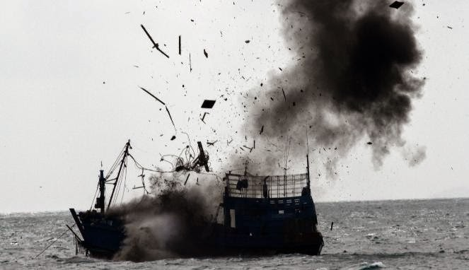 Menteri Tedjo Minta Penenggelaman Kapal Tak Semena-mena