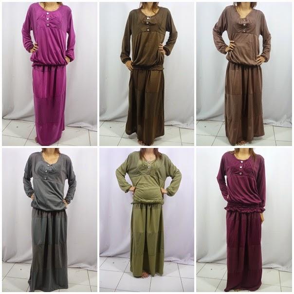 Model Baju Hamil Muslim Untuk Pesta Terbaru 2015