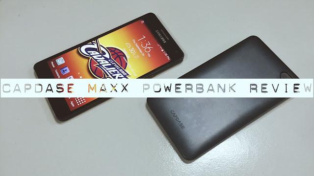 Capdase Maxx Powerbank Review