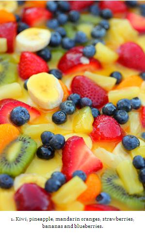 Healthy, Colorful & Refreshing Fruit Salads & Desserts !