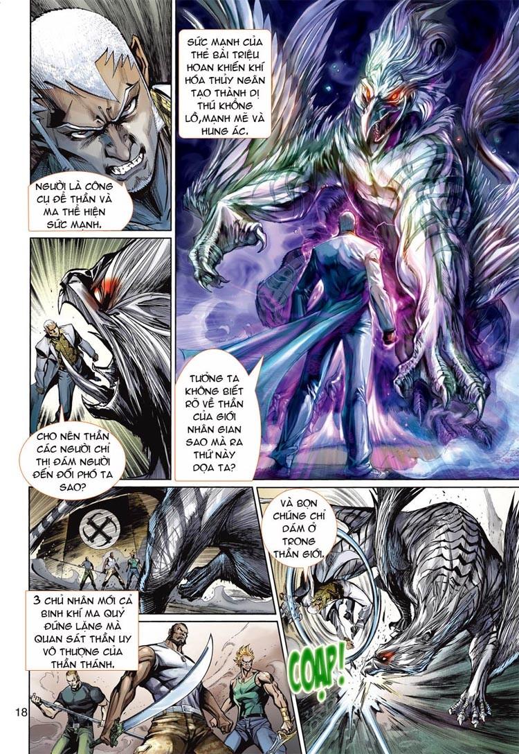 Thần Binh 4 chap 20 - Trang 18