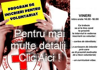 Vrei sa afli programul de inscrieri pentru voluntariat?