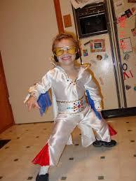 disfraz casero de  Elvis Presley