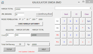 Kalkulator Simda Aplikasi Mudah Hitung Harga Barang
