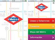 """Bajo el nombre de """"Metro Madrid Oficial"""", esta herramienta permite . (metro madrid )"""