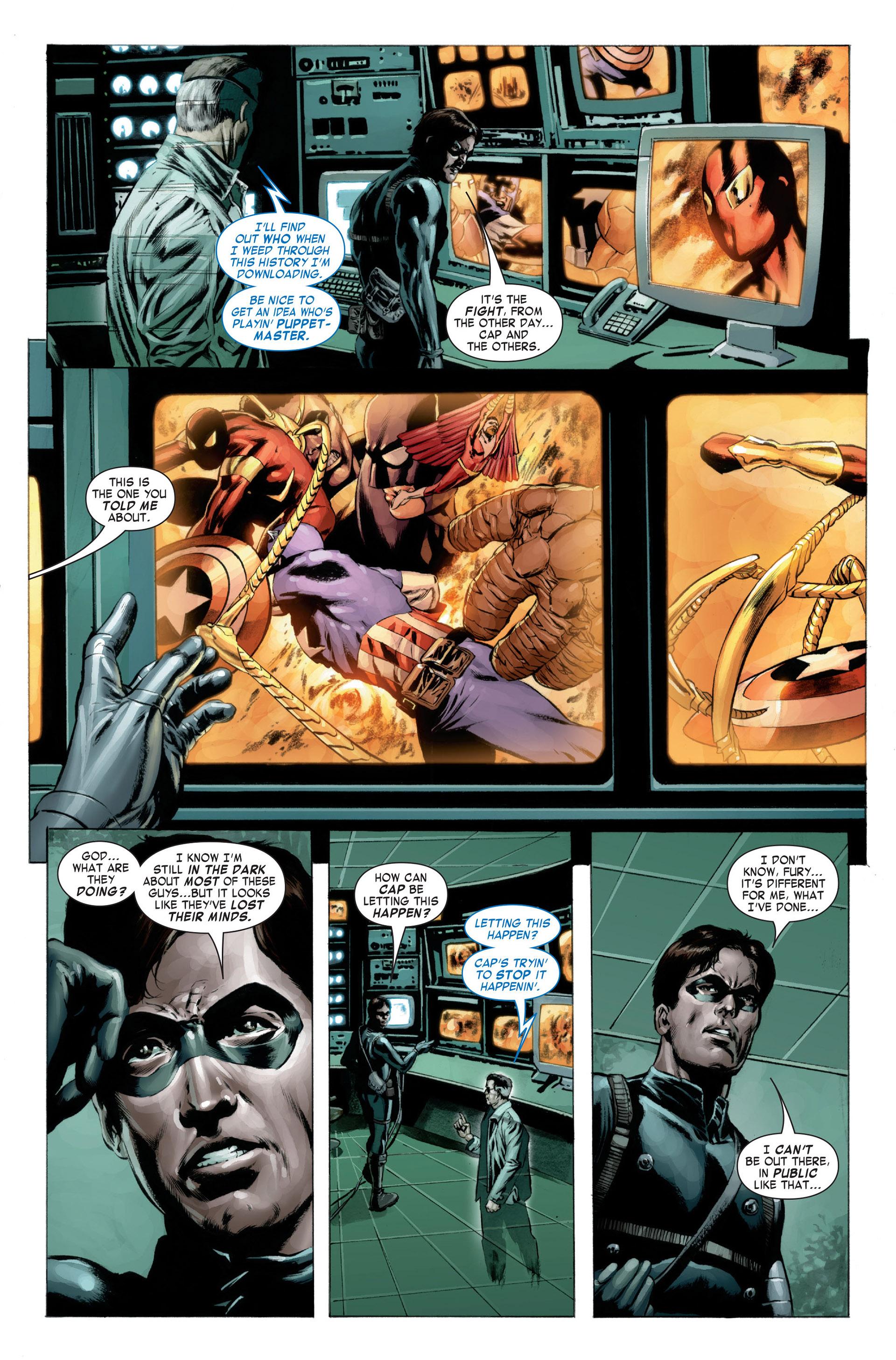 Captain America (2005) Issue #23 #23 - English 9