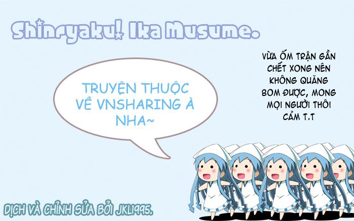 Shinryaku! Ika Musume: Chapter 128