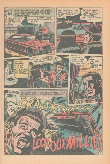 Haunted 16 page by Bill Molno and Wayne Howard