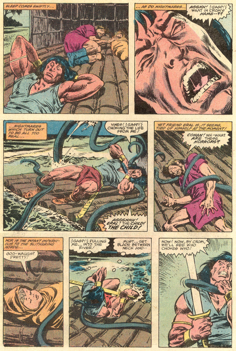 Conan the Barbarian (1970) Issue #136 #148 - English 7