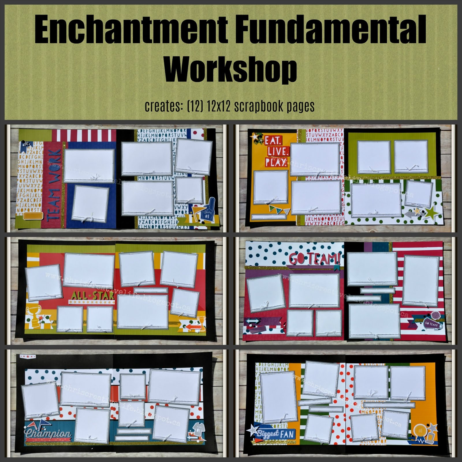 Enchantment Fundamental Workshop