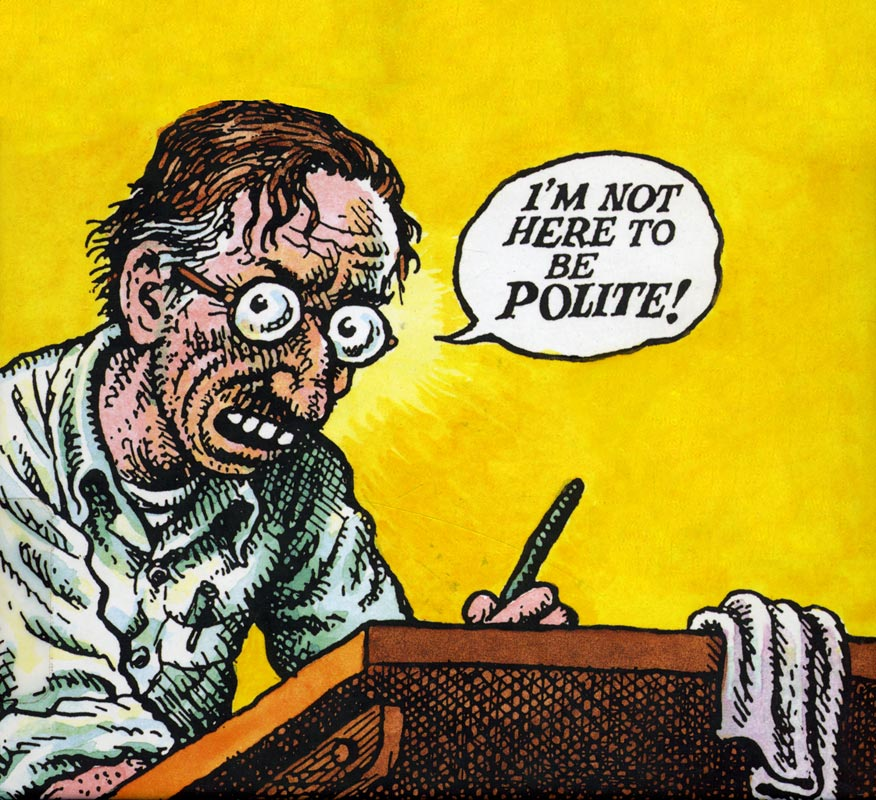 robert crumb Do you think gay marriage should be legal?