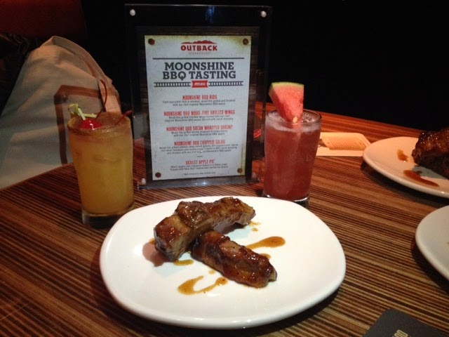 Moonshine BBQ Menu at Outback Steakhouse Restaurants