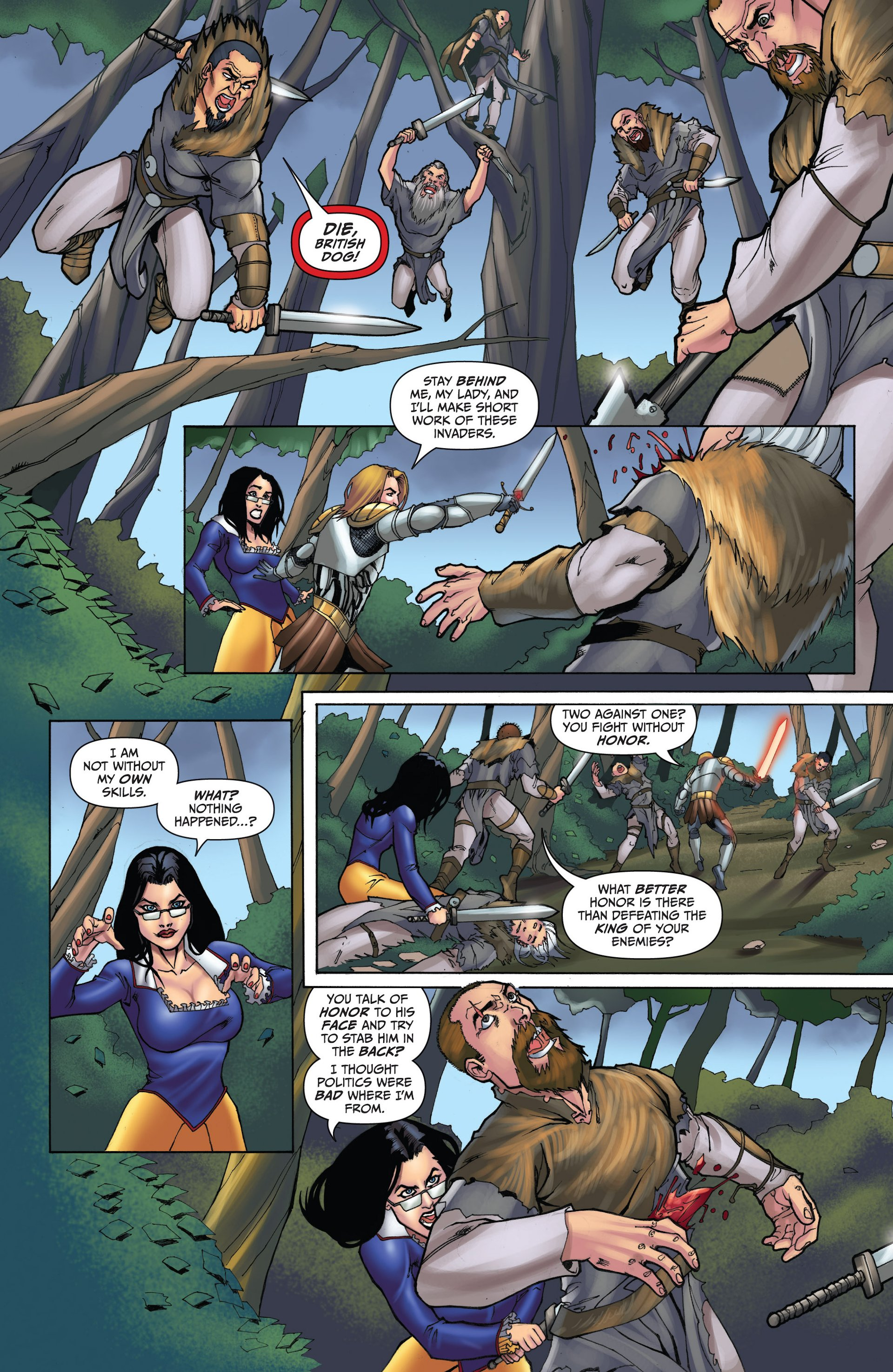Grimm Fairy Tales (2005) Issue #93 #96 - English 9