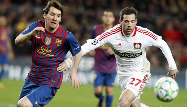 Barcelona vs Bayer Leverkusen en vivo