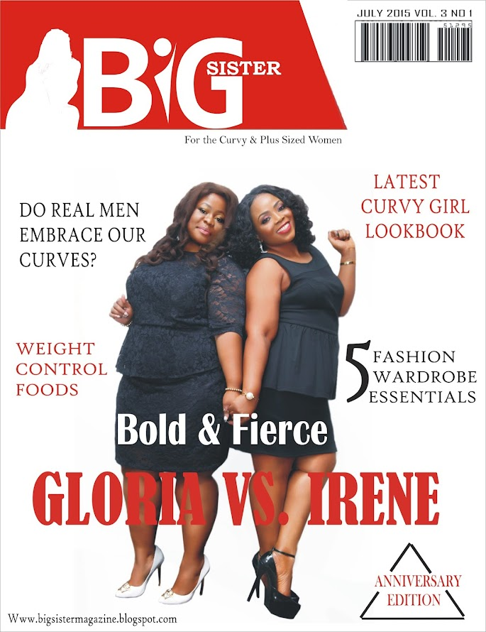 BIG SISTER MAGAZINE...(Health & Lifestyle Magazine for the curvy women)
