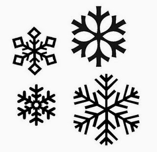 Vintage handmade felt christmas ornaments - Snowflake Crafts For Kids And Free Printable Cut Outs