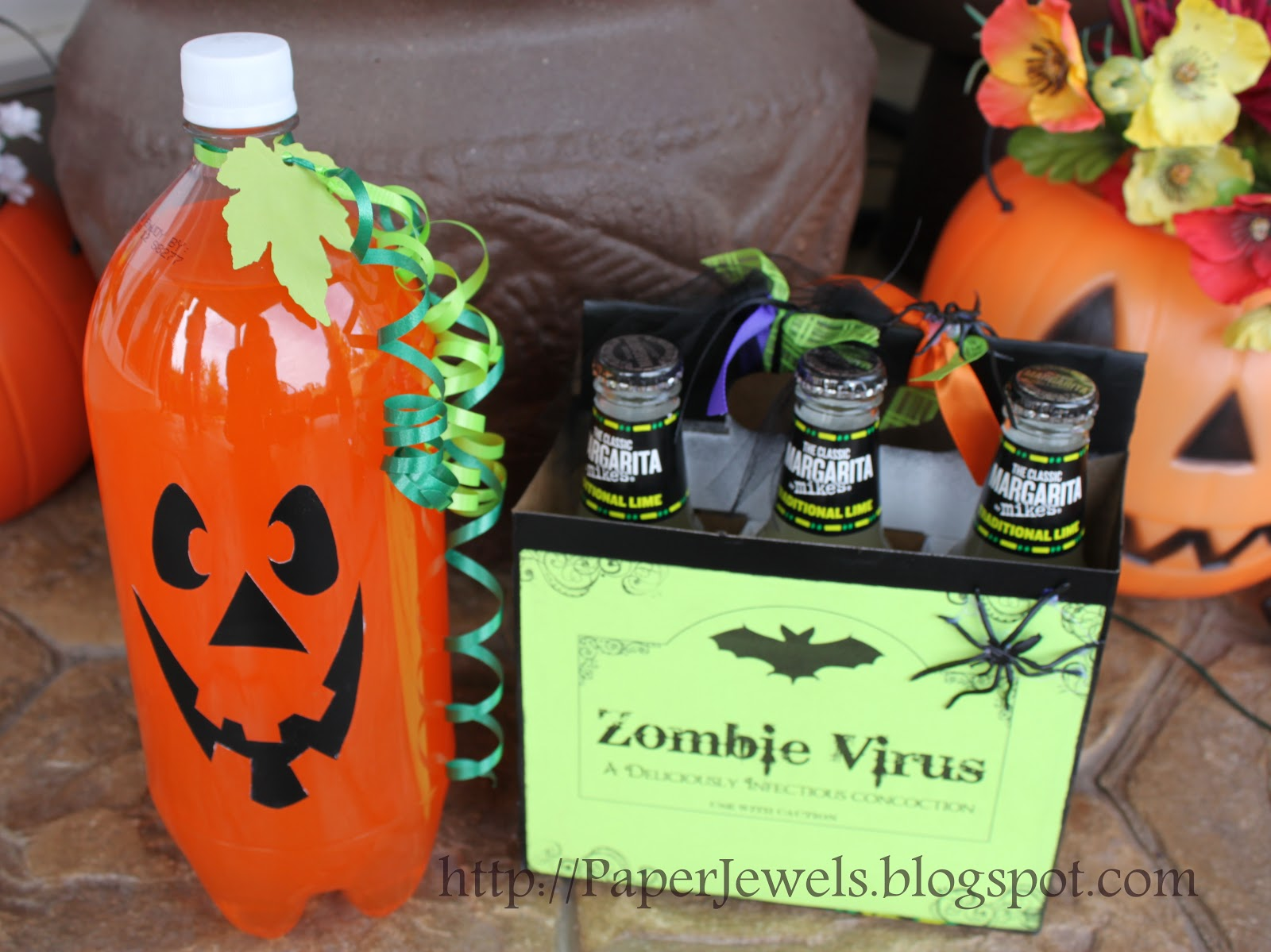 Paper jewels and other crafty gems simple and spooky for Fun easy party drinks