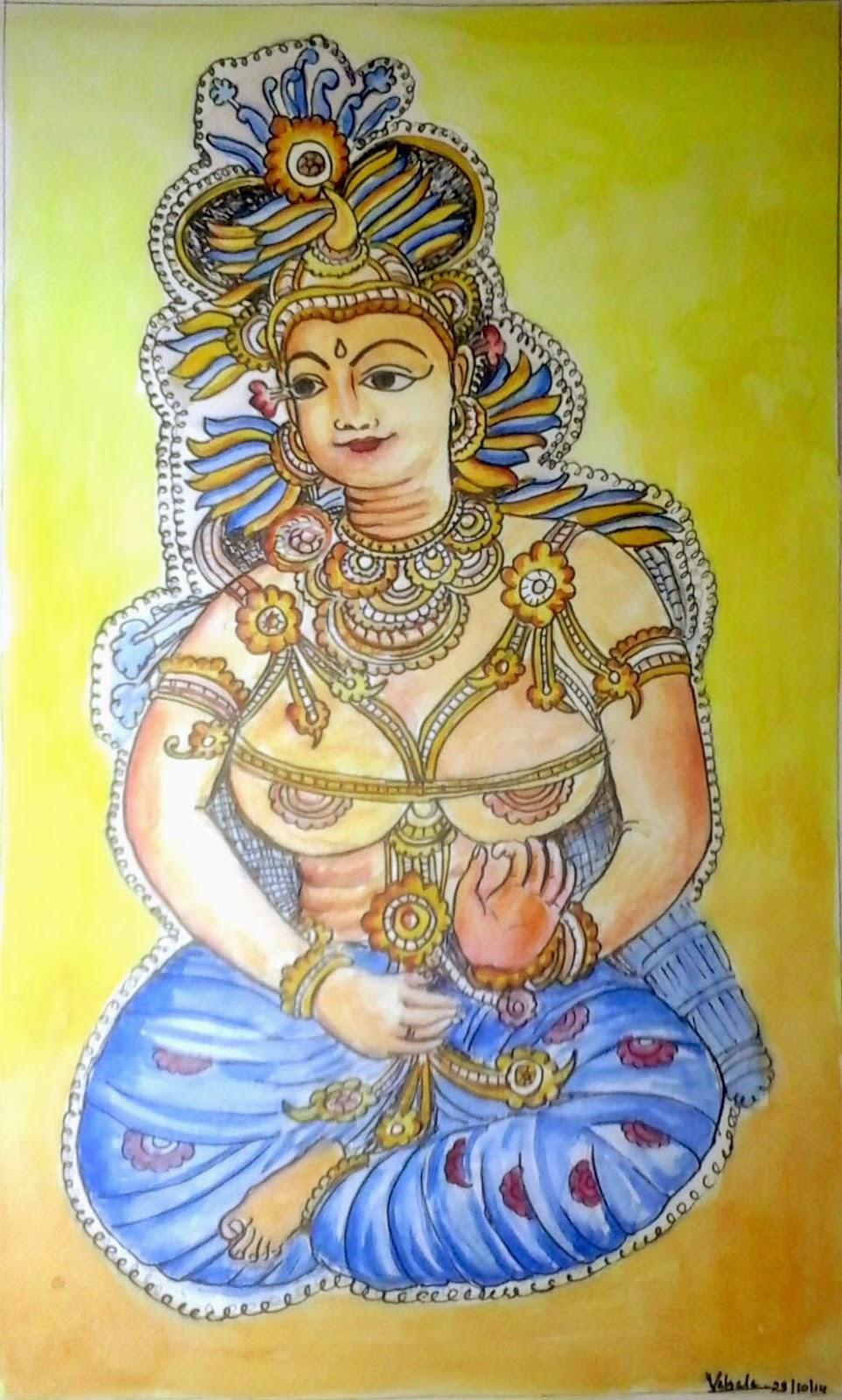 Seethadevi of Panayannoorkavu Painting