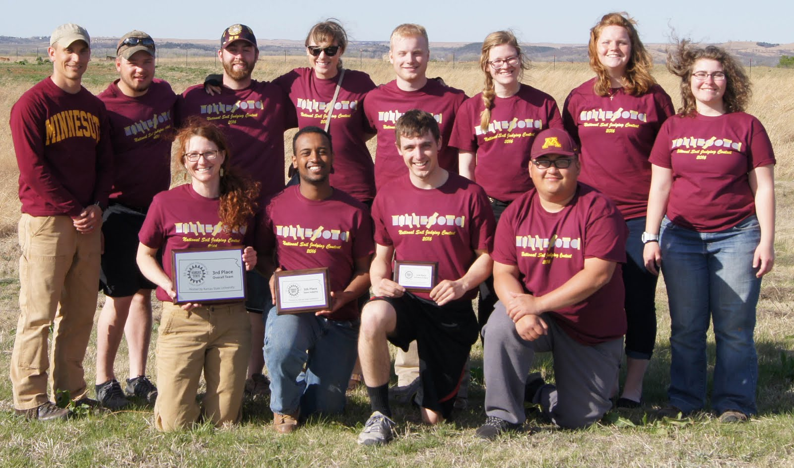 2016 University of Minnesota National Soil Judging Team