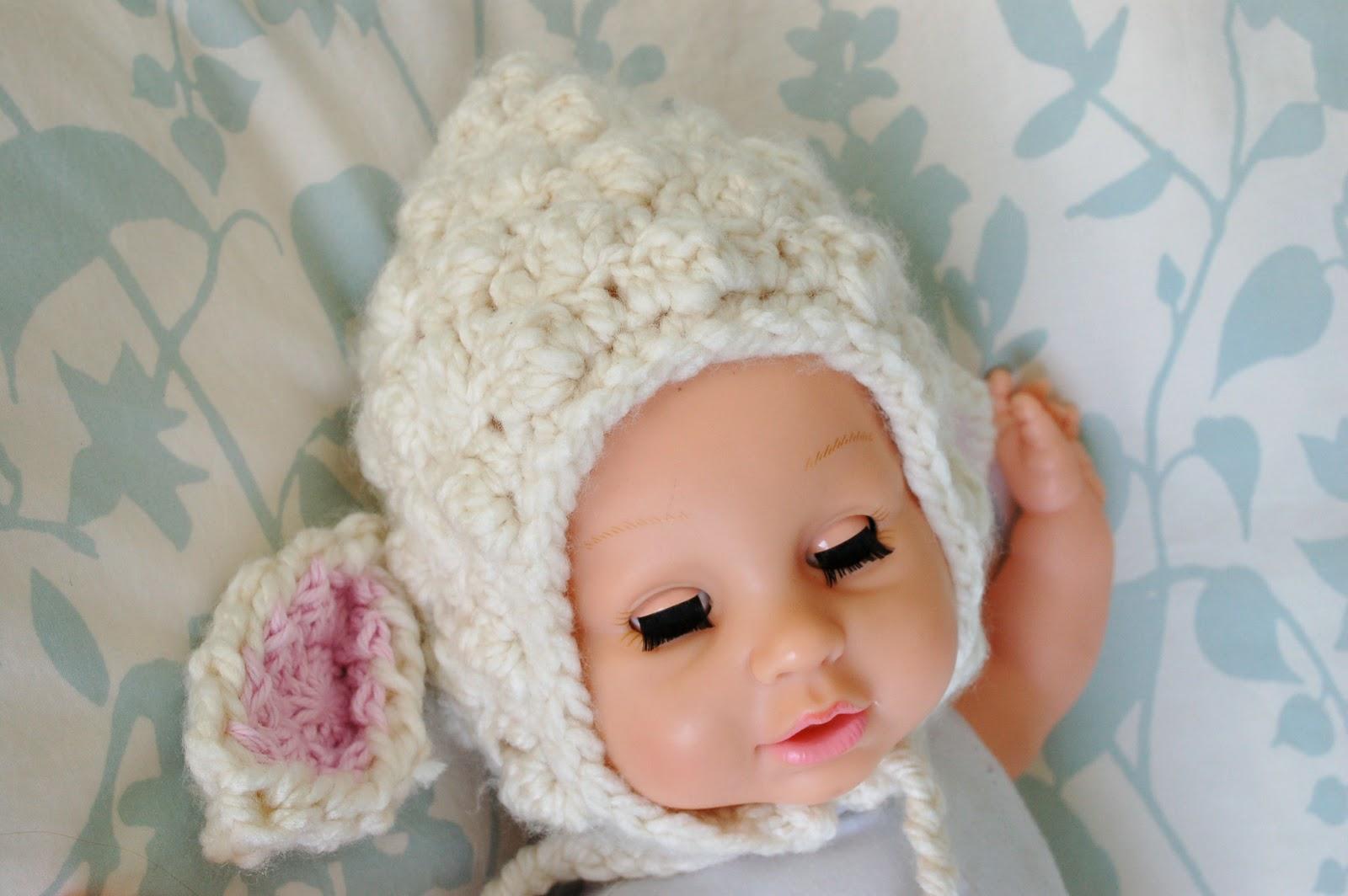 Alli Crafts: Free Pattern: Lamb Bonnet