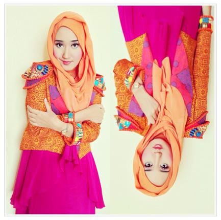 Kumpulan Koleksi Hijab Modern Dian Pelangi Terpopuler