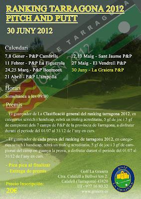 ranquing Tarragona al Pitch & Putt La Graiera