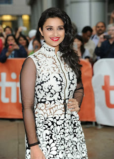 Parineeti Chopra Pictures in Stylish Dress at Toronto International Film Festival