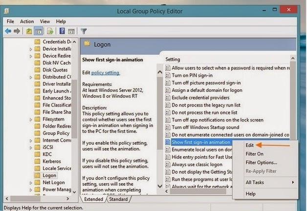Cara Menghilangkan Animasi Pertama Saat Membuat Akun di Windows 8