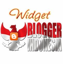 Widget Blogger Indonesia
