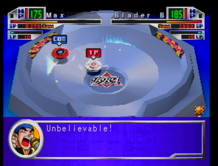 BeyBlade - Let It Rip Game ScreenShot