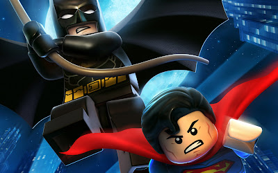 Lego Batman 2 DC Super Heroes Batman and Superman HD Game Wallpaper