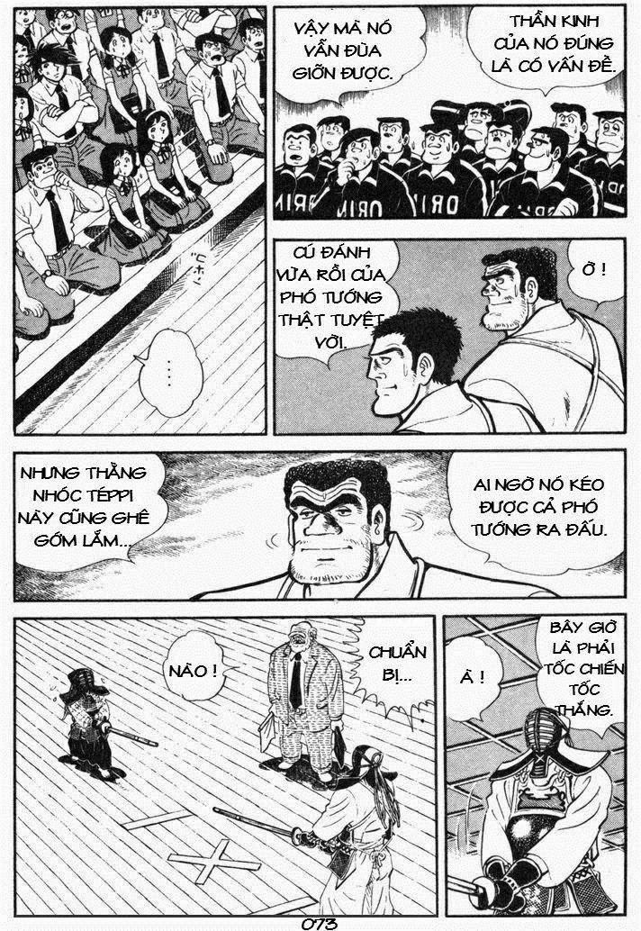 Siêu quậy Teppi chap 50 - Trang 32
