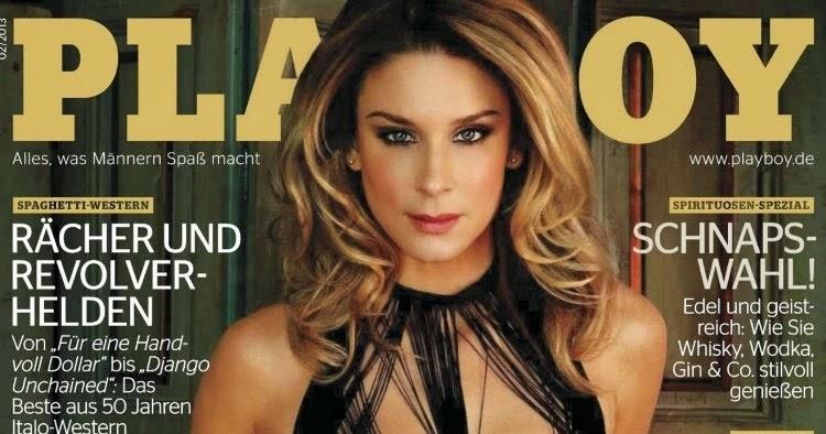 Unter Uns Star - Claudelle Deckert in Playboy.   The Bigest