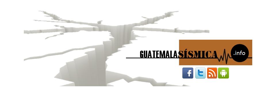 Guatemala Sismica
