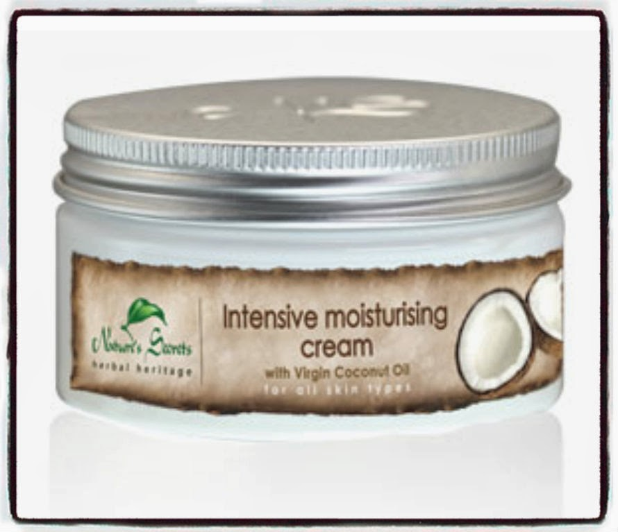 Intensive Moisturising Cream Coconut Nature's Secret