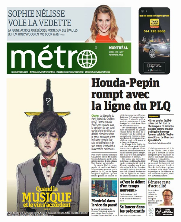 journal Metro Montreal Paul McCartney