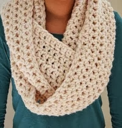 Crocheting Infinity Scarf For Beginners : see more Infinity Scarf Crochet Pattern, Amazing Scarf