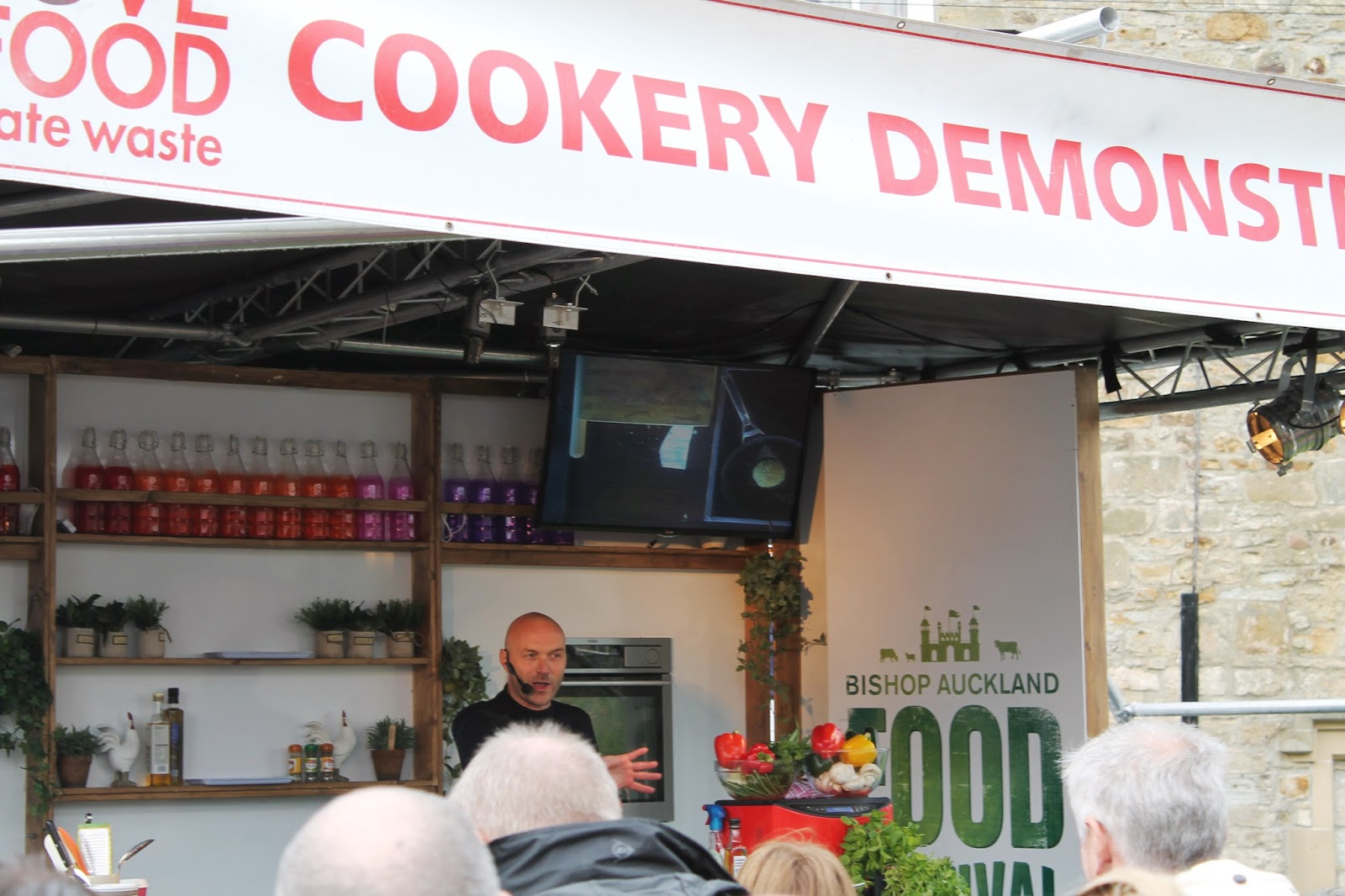 Bishop Auckland Food Festival 2014 - Cookery Demo - Simon Rimmer