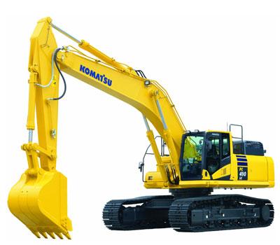 Komatsu Excavators PC490LC-10
