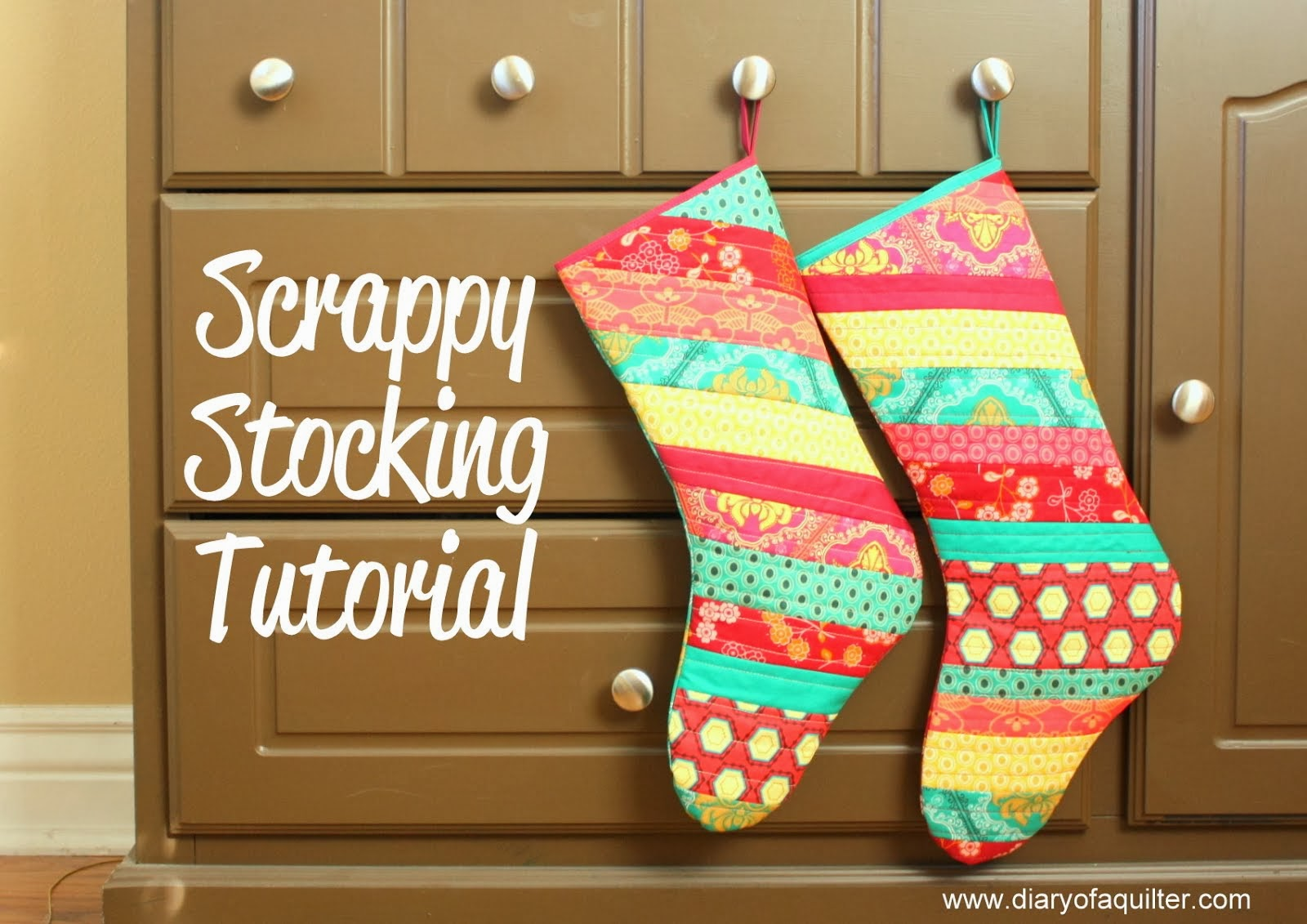 Scrappy Stocking