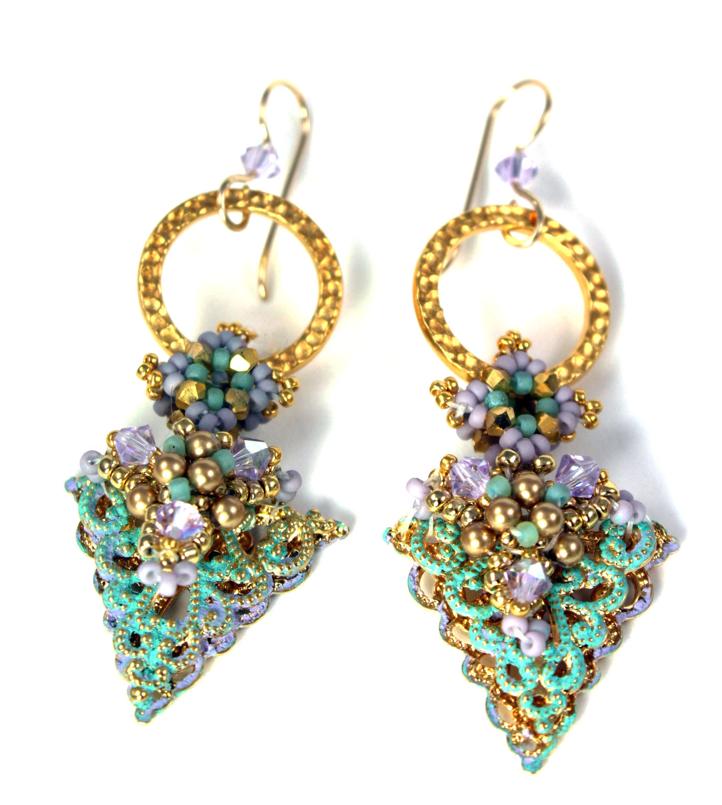 nicelena moroccan turquoise gold at lena additional origami item com buyolympia and earrings textiles nice