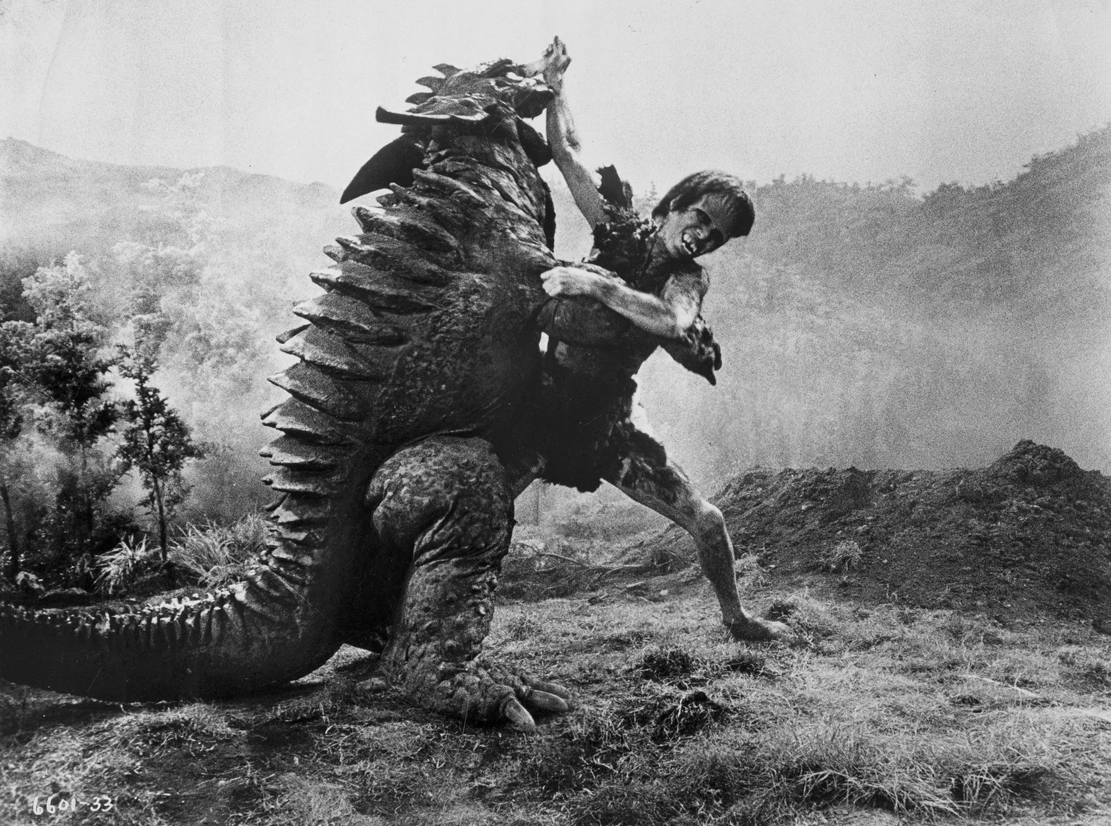 Oddball Film Report  FRANKENSTEIN CONQUERS THE WORLD  1965 Frankenstein Conquers The World Baragon