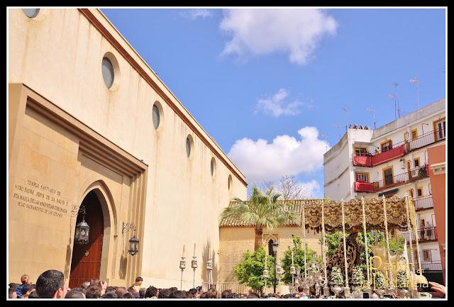 Traslado Virgen de las Angustias de Los Gitanos Sábado Santo 2013