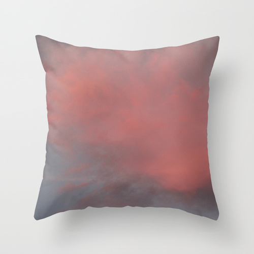 catherine masi sunset sky throw pillow