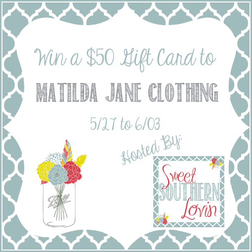 $50 Gift Card to Matilda Jane Clothing Giveaway