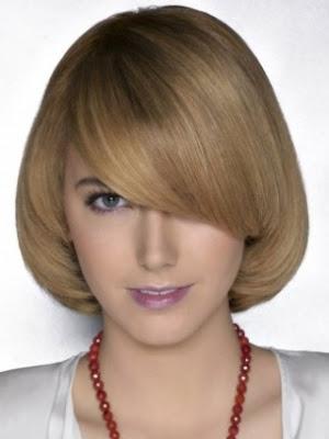 cabello lacio corte medio