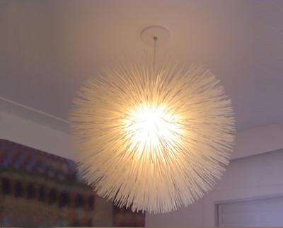 Luminária decorativa de nylon